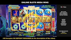 Thunder Bird x81 4$ Bet 327$ Big Win Online Slots GameArt BitStarz Online Casino