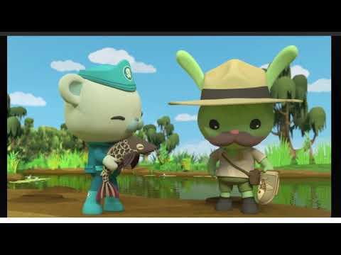 Octonauts  Season 4 Gup K Great Swamp Rescue