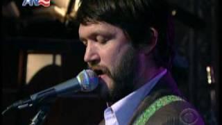 Cursive @ Letterman (March 13, 2009) (HQ sound)
