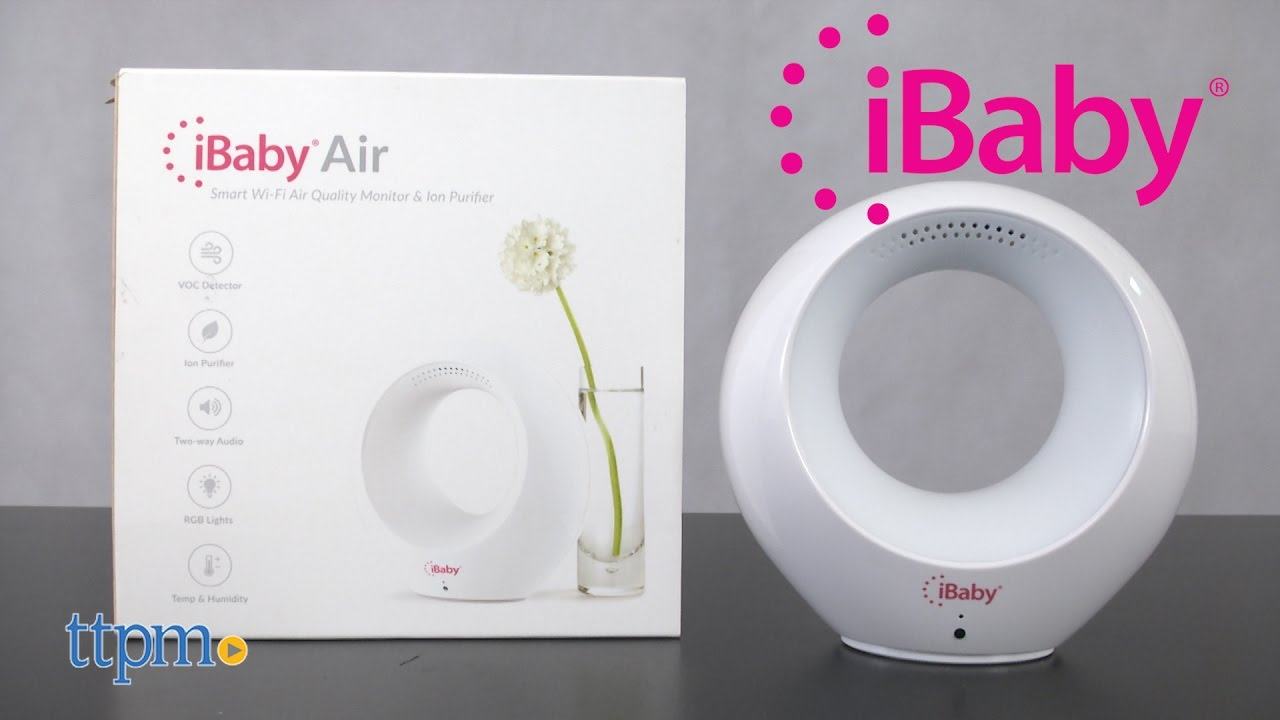 iBabyCare Air Smart Air Quality Baby Monitor and Purifier