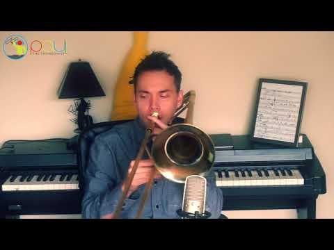Jazz trombone solo! Beautiful Love - Trombone Cover - Paul The Trombonist