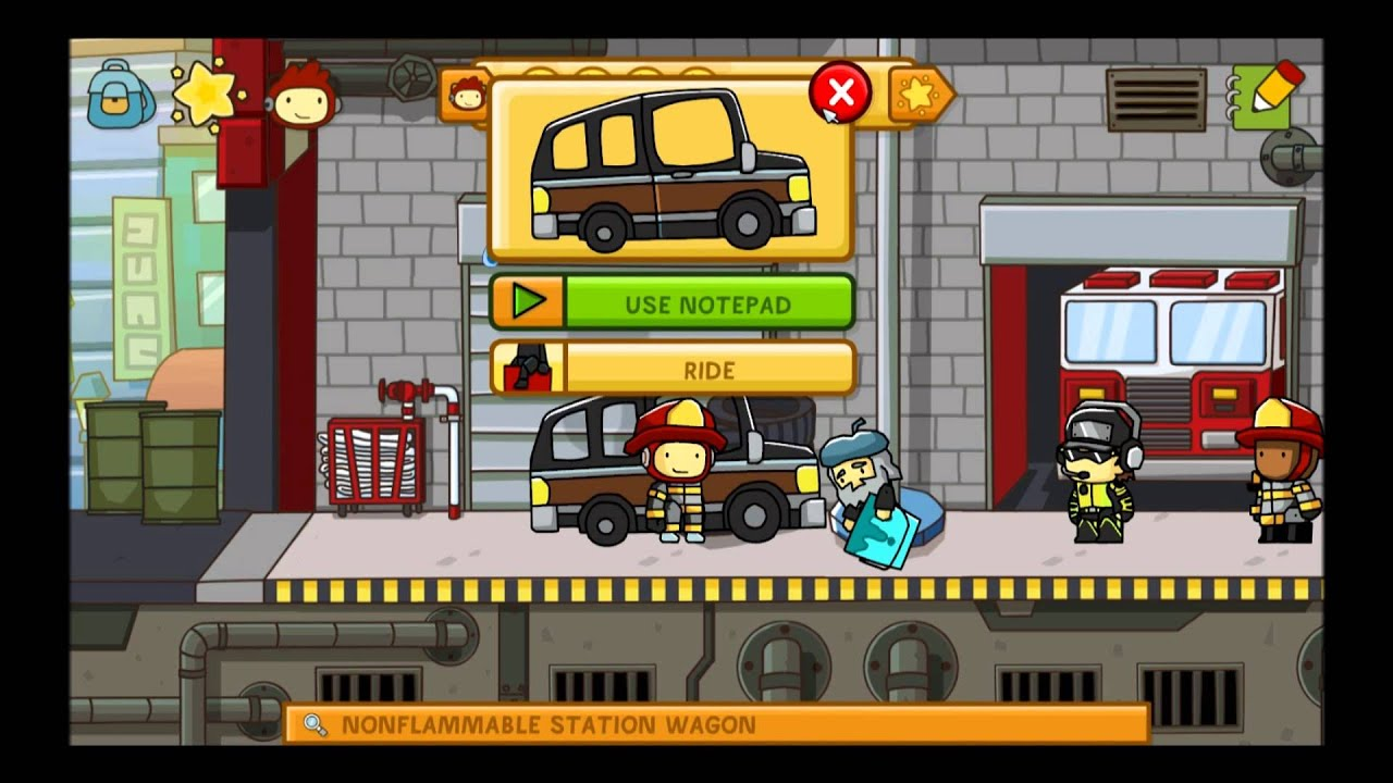That's one hot dog! ScribbleNauts: Unlimited Part 3