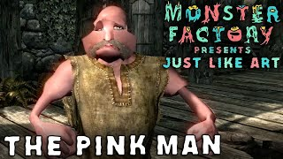 monster factory presents just like art the pink man