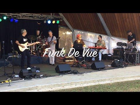 Funk De Vue performs at The Basin Music Festival 2017