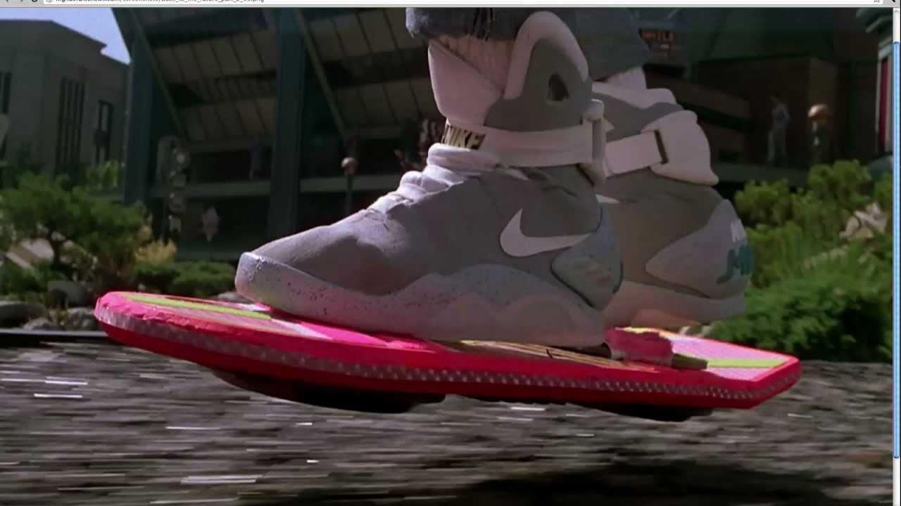 Nike Mag Back To The Future Scene
