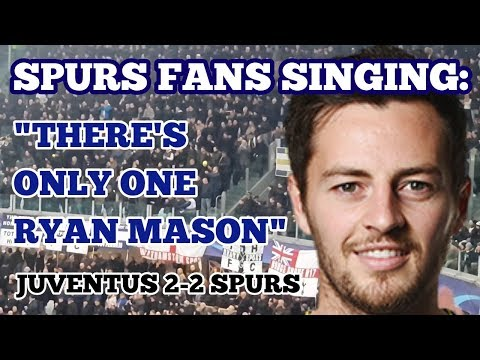 """SPURS FANS SING: """"There's Only One Ryan Mason"""" in Juventus: Following His Retirement Announced Today"""