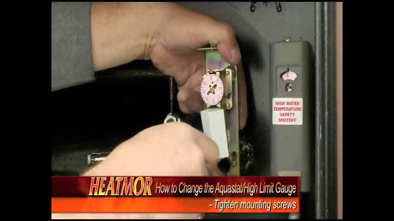Honeywell Aquastat L4006a Wiring Diagram 1997 Honda Accord Ecu Heatmor Fix Youtube