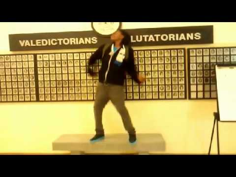 Peoria High School Harlem Shake Pt 1