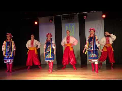 Zahrava performing at the Ukrainian Independence Day Festival