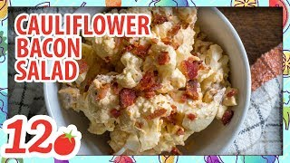 How to Make: Cauliflower Bacon Egg Salad