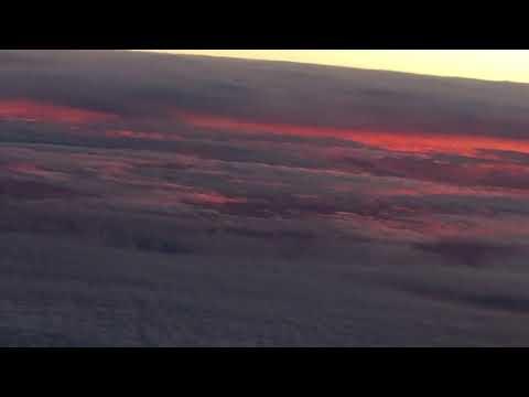 flat earth,sunrise under clouds 3 thumbnail