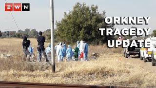 Police have found a family of one of the 20 bodies that were discovered in Orkney. In an interview with Eyewitness News on 18 June 2021, North West police also confirmed that information about the deceased's names and contacts of their next of kins were found in 12 of the body bags.  #Orkney #20Bodies #Zamazama