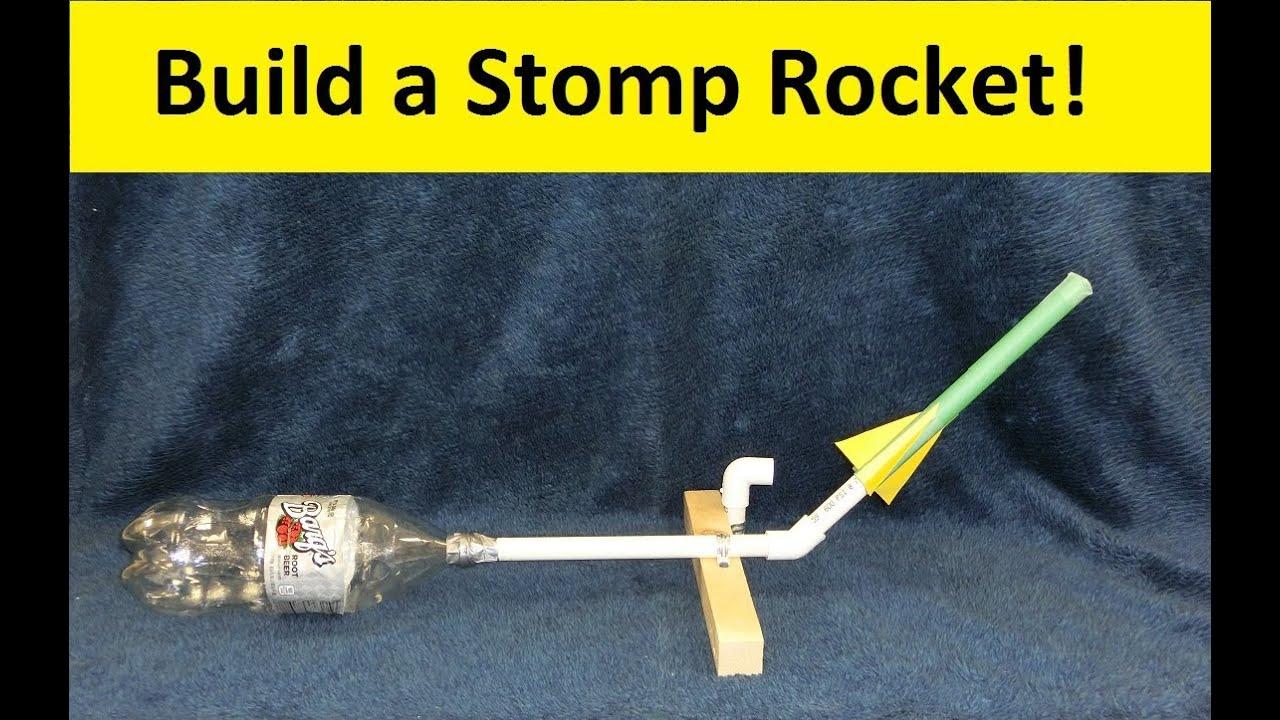 Image result for image stomp rocket for kids to make
