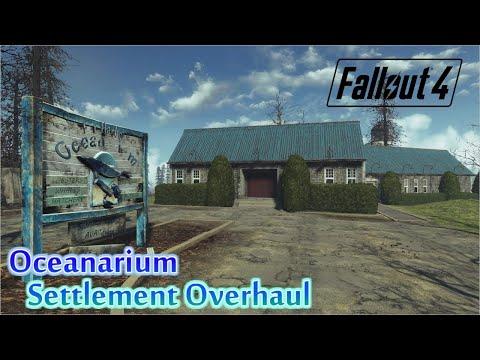 [PS4版fallout4]フォールアウト4 Mod Oceanarium Settlement Overhaul