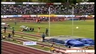 WR 5000 m Bekele 2004 Hengelo