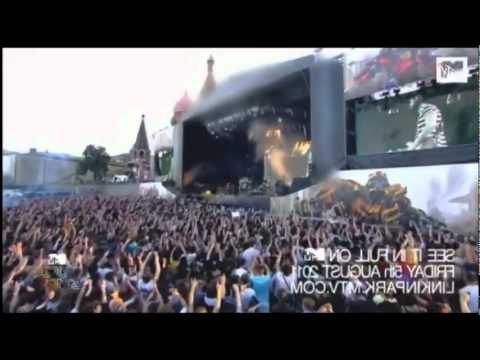 Linkin Park Bleed It Out  At Red Square, Moscow, Rus Full HD 1080p