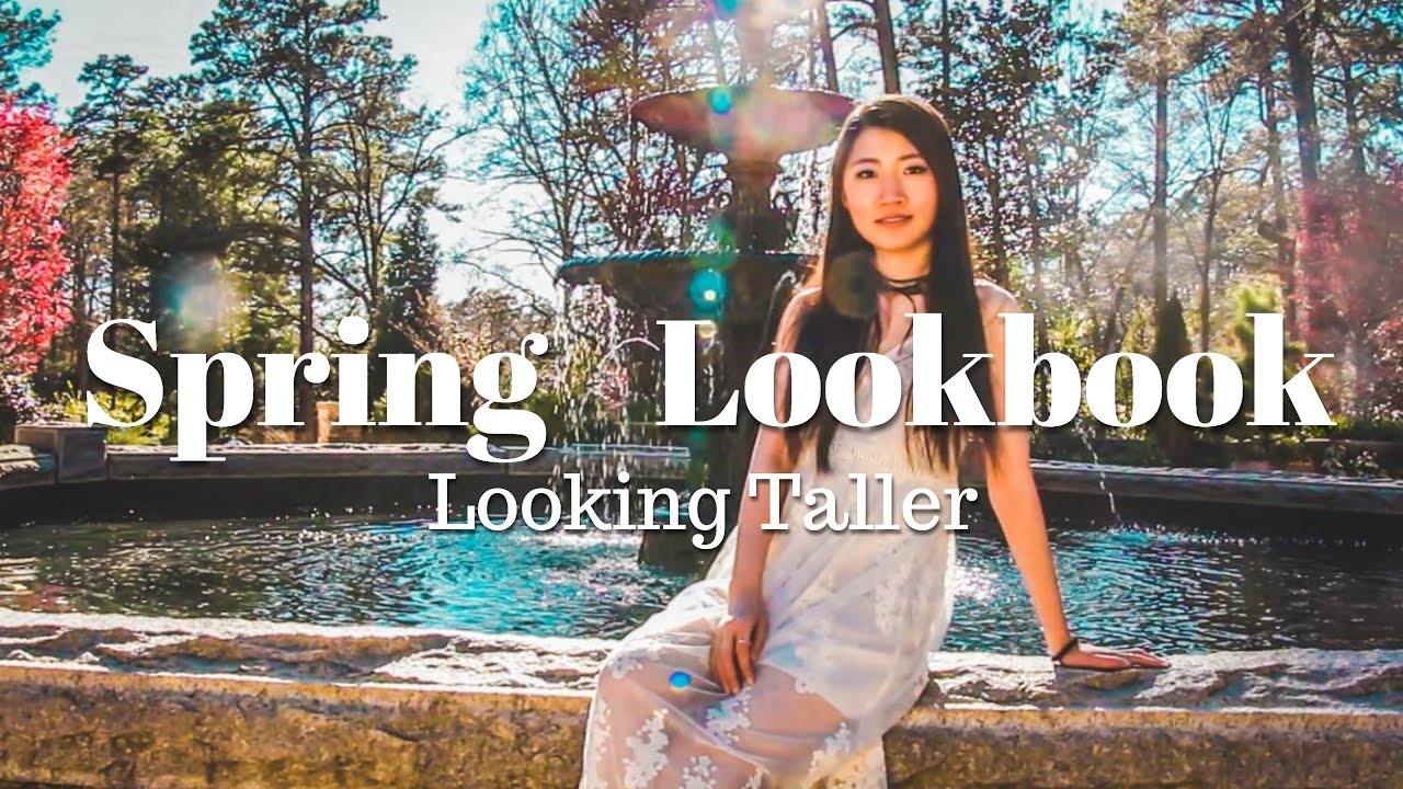 Spring/Summer Lookbook: Outfits for Looking Taller A Beginner Guide [Style with Amy] 1