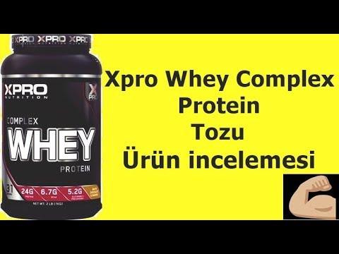 Xpro Whey protein tozu tanıtımı