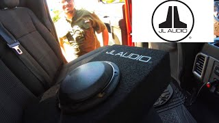 New JL Audio Micro Subwoofer for My F150. Pioneer Subwoofer Update.