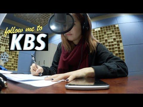 Follow Me To KBS (Korean Broadcasting System)   #Vlogmas Day⑧