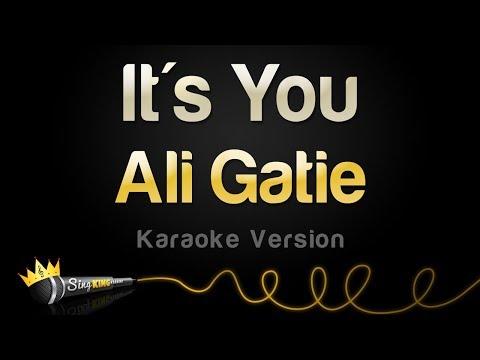 Ali Gatie - It&39;s You Karaoke