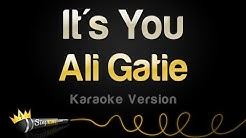 Ali Gatie - It's You (Karaoke Version)