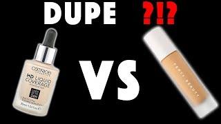 DUPE ALARM❓❗️❓Fenty Beauty VS Catrice | Rihanna VS Drogerie | Hatice Schmidt