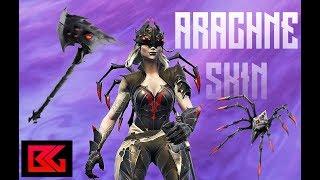 Fortnite Solo *NEW* Legendary Arachne Skin Gameplay