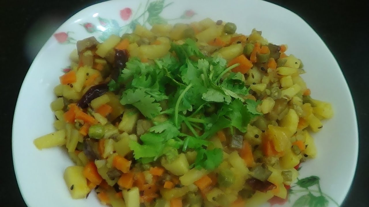 Mixed vegetable in bengali style chorchori recipe youtube forumfinder Images