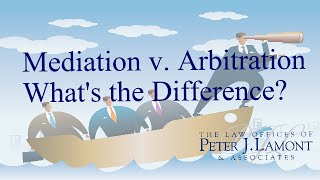 Mediation/Arbitration: What's the Difference?