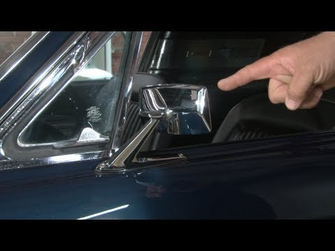 Mustang Standard Exterior Mirror 1967 1968 Youtube