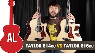 Taylor 814ce vs 816ce: Can you hear the difference?