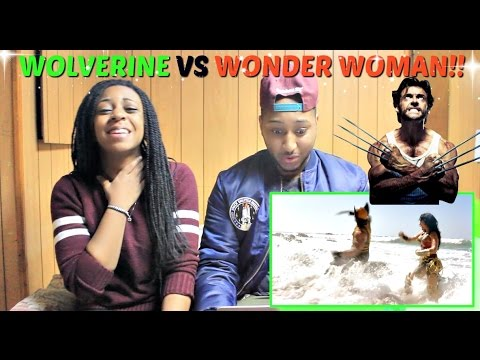 WONDER WOMAN vs WOLVERINE - Super Power Beat Down (Episode 20) REACTION!!!!