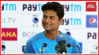 Indian spinner, kuldeep yadav bags hat-trick against australia