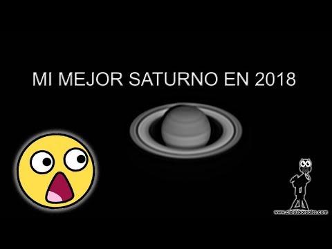 Procesado de imágenes planetarias. Saturno