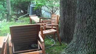 Chappaqua New Castle Powerwash  Furniture Outside Exterior Siding Vinyl Aluminum Wood Restore