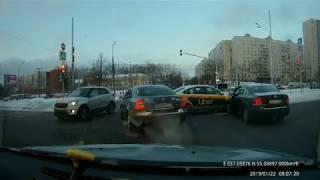 Подборка ДТП, АВАРИИ,ЧП ЗА 22 ЯНВАРЯ 2019(22.01.2019)  A selection of accidents on January 22, 2019