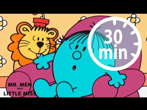 MR MEN & LITTLE MISS - 30 minutes - Compilation #3