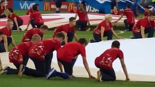 Россия - Хорватия. 07.07.2018 г. Церемония открытия матча. Часть I