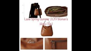 Lavie Spring-Summer 2019 Women 39 s Hobo Tan levis Hand bag review Lavie bags unboxing Levi s bag