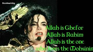 michael jackson - give thanks to allah lyrics
