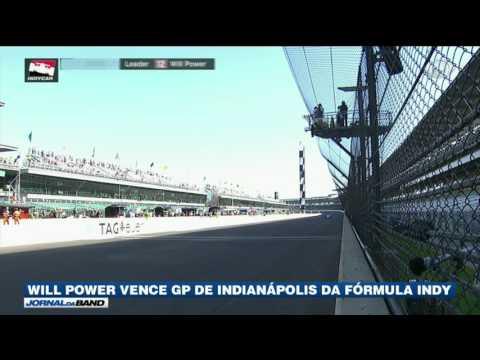 Will Power vence GP de Indianápolis na Fórmula Indy