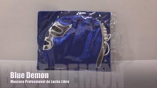 Blue Demon Mask (Mascara Profesional de Lucha Libre) - Reseña
