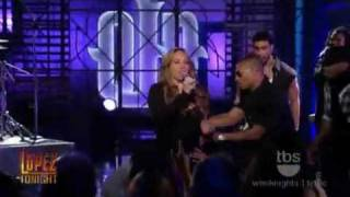 Mariah Carey - Obsessed - Live- Lopez Tonight 2009