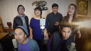 Love Me Harder / Jealous - SanFran6 (Ariana Grande ft. The Weeknd x Nick Jonas A Cappella Cover)