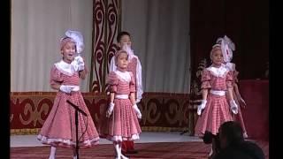 """Курманова Наргиза """"Жаз жарыш"""" исп. детский хор """"Ак шоола"""" и автор"""