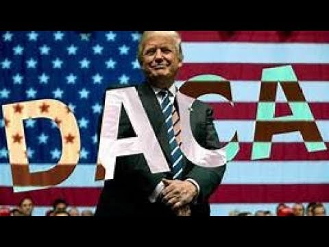 Trump Campaign Promise DACA illegal immigrants breaking law Build WALL Breaking News January 11 2018