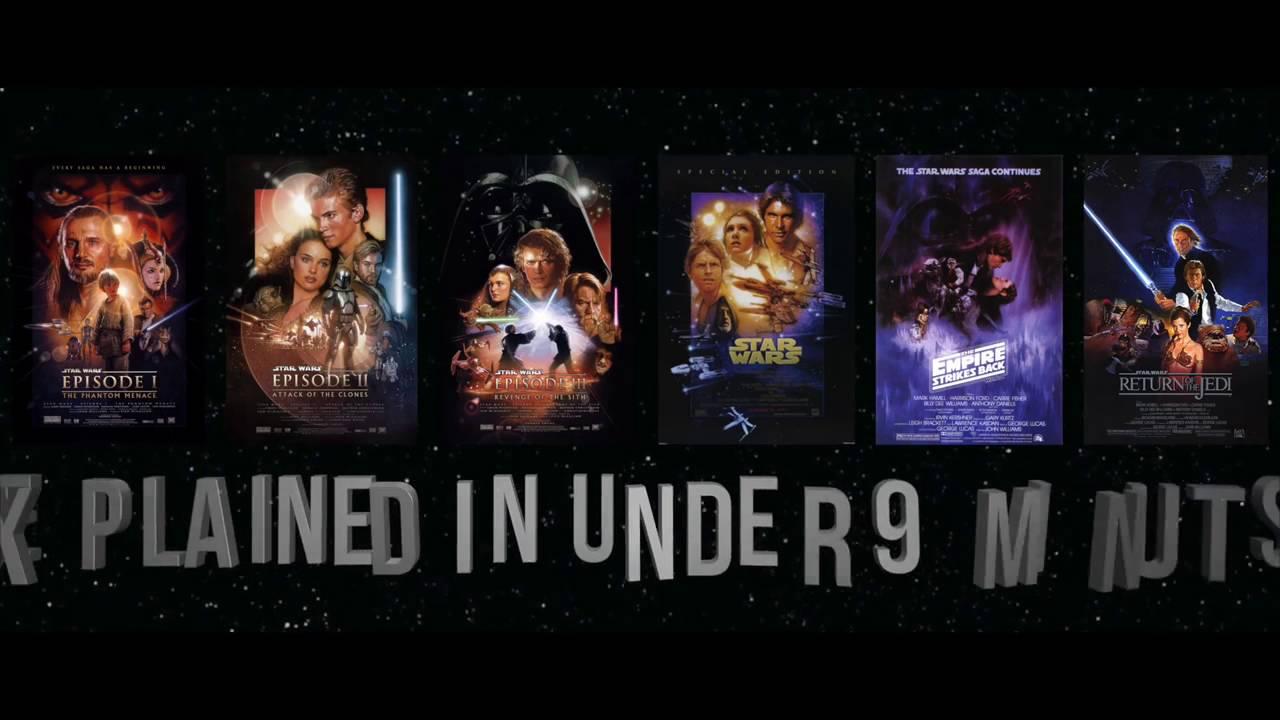 Star Wars Episodes 16 Summarized in 9 Minutes YouTube