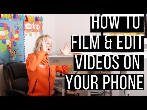How To Film And Edit Your Intro Video For VIPKid With Your IPhone