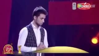 Таджик на шоу голос в Китае . Песня мама